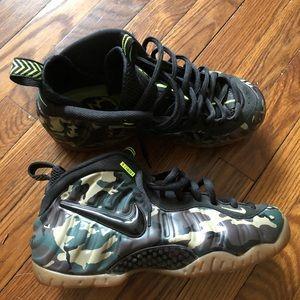 Nike Foamposite Army Camo